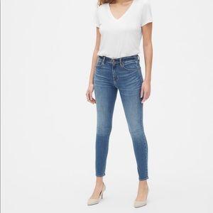 True skinny, super high rise jeans